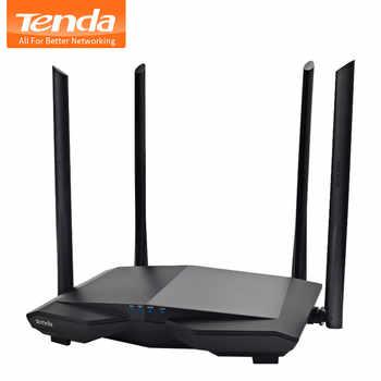 テンダ AC6 AC1200Mbps ワイヤレス無線 Lan ルータ 1WAN + 3LAN ポート、 4 * 6dBi 高利得アンテナ無線 Lan リピータスマート App 管理 - DISCOUNT ITEM  31% OFF パソコン & オフィス