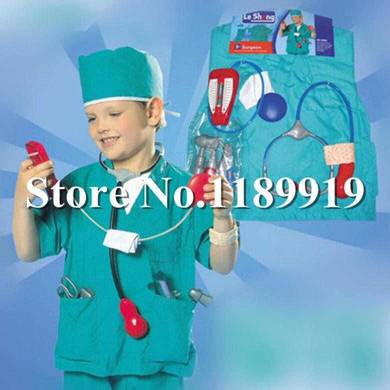 Child Nurse Hospital Doctor Fancy Dress Costume Kids Girls Female