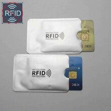 Блок экранирования RFID карты 13,56 МГц Пустая Алюминиевая фольга IC защита NFC карта безопасности Противоугонная щетка набор ID карт