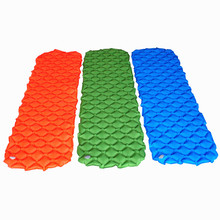 Inflatable Camping Mat Camping Hiking Sleeping Gears Air Mattresses Waterproof Picnic Mat Moisture-proof Mattress Beach Pad все цены