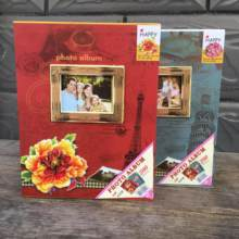 Photo Album Gift Can Be Placed 6 Inch Plastic PP Inside Page Photo 200 Album New Family Scrapbook Wedding Album(China)
