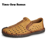 2017 Summer Style Soft Moccasins Men Loafers High Quality Genuine Leather Shoes Men Flats Driving Shoes