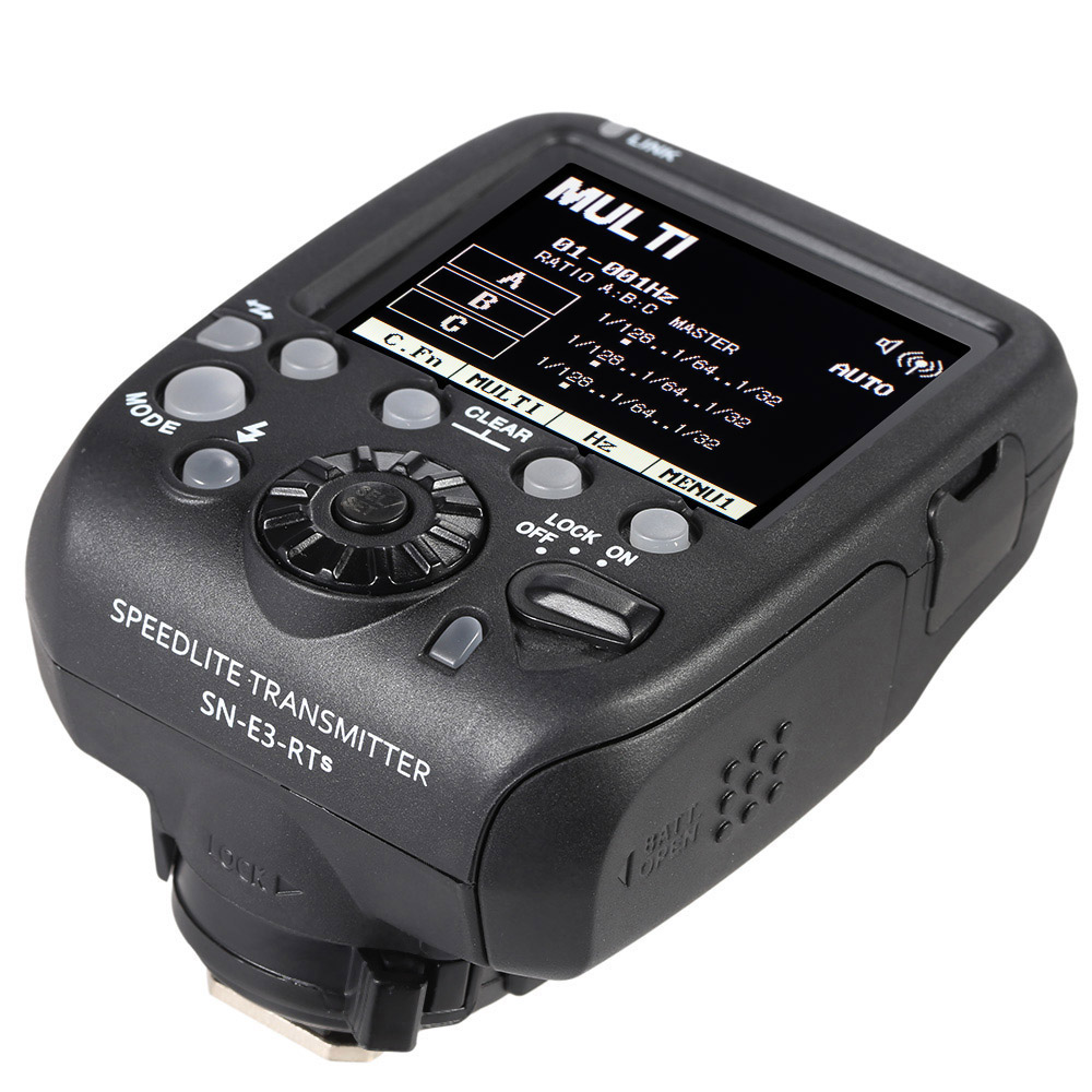 Shanny SN-E3-RTs Transmitter, Compatible With Canon 600EX-RT,SN600C-RTSN600S,SN600SC,SN600EX-RT SPEEDLITE,FLASH sn opn302