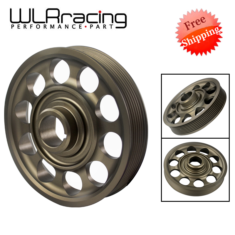 FREE SHIPPING Racing Light Weight Crank Pulley For CIVIC FD2 FD2R 2.0 K20A WLR-CP005FREE SHIPPING Racing Light Weight Crank Pulley For CIVIC FD2 FD2R 2.0 K20A WLR-CP005
