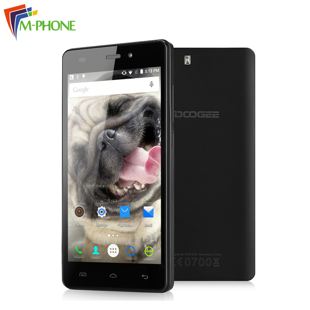Original DOOGEE X5 Pro 5 0 inch 4G Mobile Phone Android 5 1 MTK6735 Quad Core