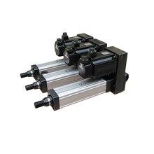 FDR сверхмощный сервопривод Электрический цилиндр управляемый сервоприводом линейный привод максимальная тяга 50KN Замена пневматический цилиндр