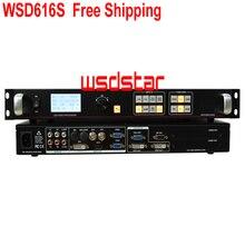 WSD616S ledビデオプロセッサsdi/hdmi/dvi/vga/cvbsサポートpip &ポップサポートワンキーフリーズ画像&ブラックスクリーン送料無料