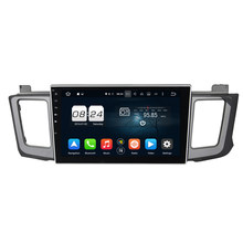 10.1 Inch 8 Core Pure Android 6.0.1 Car Multimedia Player Fit For Toyota RAV4 2012-2015 Central Dashboard Cassette Player Stereo(China)