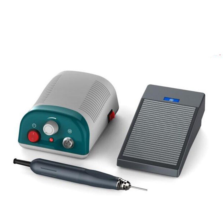 2018 Professionale 90 w 50000 rpm Brushless Elettrico rettifica Odontoiatria di Pedicure del Manicure Macchina di perforazione dei monili Lucidatore strumento