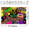 Mehofoto Back to 90s Themed Party Backdrop Graffiti Hip Hop Music Party Photo Background Old School Brick Wall Break Backdrop discount