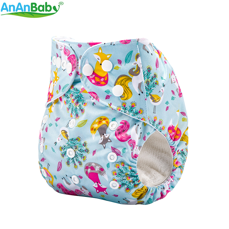 AnAnBaby 20pcs Per Lot New Designs Popular Cloth Diaper Baby Reusable Washable Diapers Without Inserts (20pcs-without-insert without-insert)