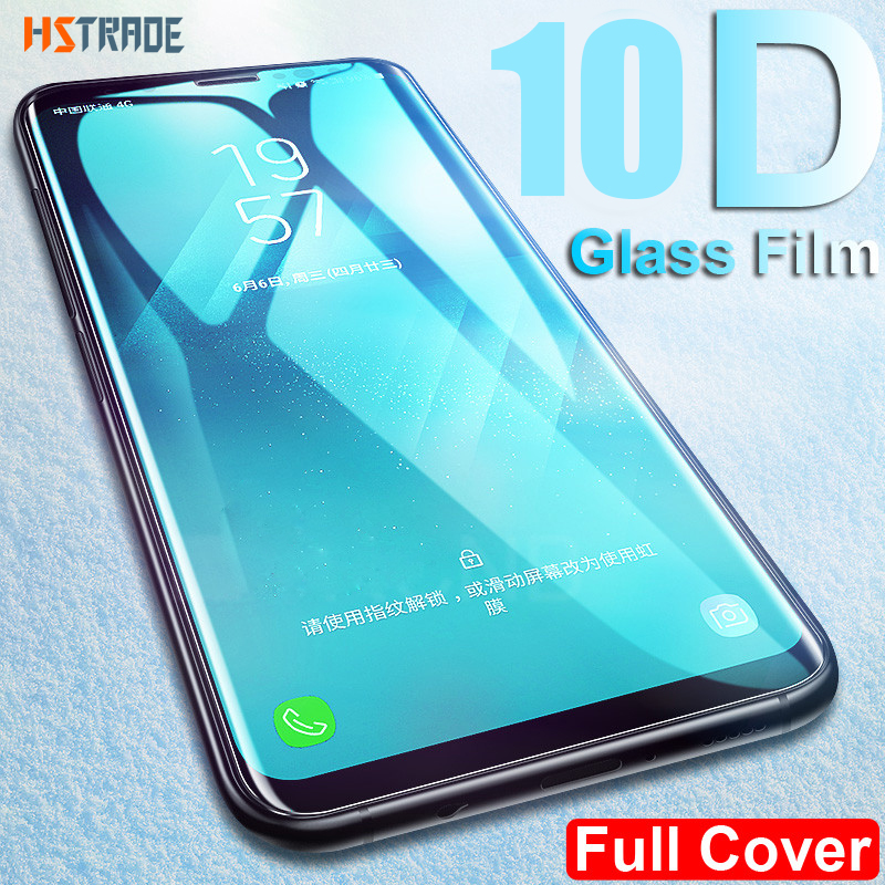 10D Curved Display screen Protector For Samsung Galaxy S9 S8 Plus S7 Edge Full Cowl Tempered Glass For Galaxy Observe eight 9 Protecting Glass