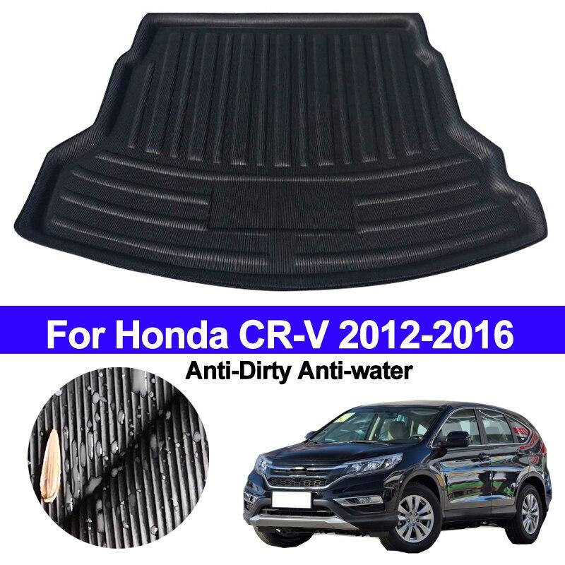 For Honda CRV CR-V 2012 2013 2014 2015 2016 Car Rear Boot Cargo Liner Trunk Floor Mat Carpet Tray Mats Pad Mat Carpet Anti-dirty