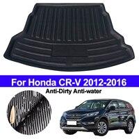 For Honda CRV CR V 2012 2013 2014 2015 2016 Car Rear Boot Cargo Liner Trunk Floor Mat Carpet Tray Mats Pad Mat Carpet Anti dirty