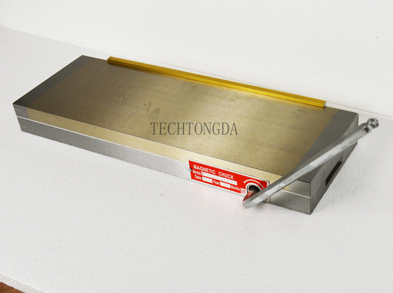 100*175mm Fine Pole Surface Permanent Magnetic Chuck Workholding For Grinding