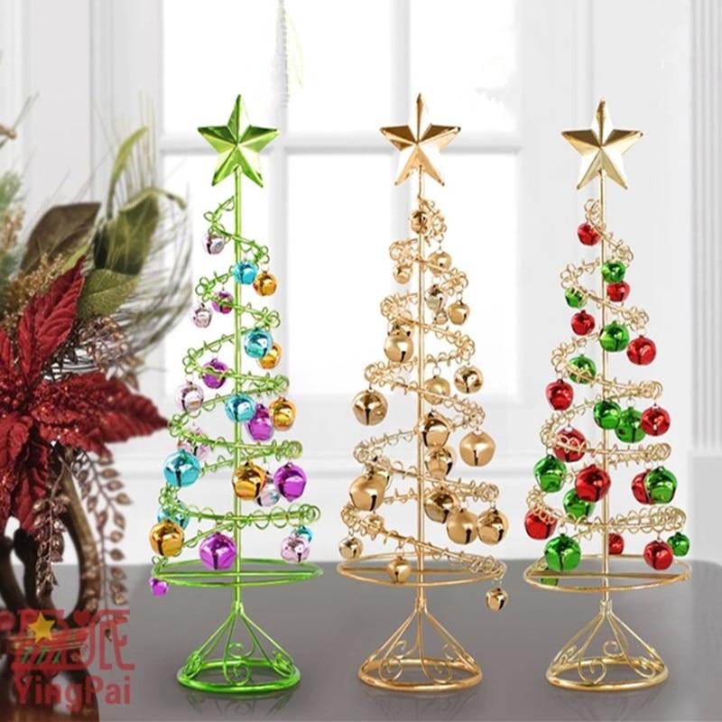 Personalizados adornos de los rboles de hierro para el for Articulos de decoracion para navidad