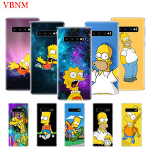 Bart Simpson Fantasy Patterned Case For Samsung Galaxy A6 A8 Plus A7 A9 J5 J8 J4 J6 2018 Art Gift Customized Cases Coque