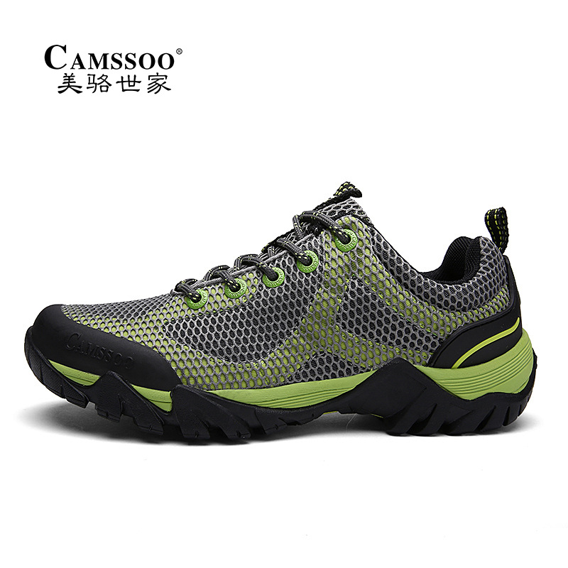 Man Hiking Shoes Outdoor Sports Hiking Women Upstream Shoes Summer Breathable Waterproof Trekking Shoes Couple camping Sneakers