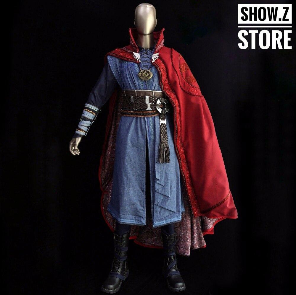 [Show. Z Store] Killerbody dr Strange ensemble de Costume à l'échelle 1/1 docteur Strange collier complet inclus