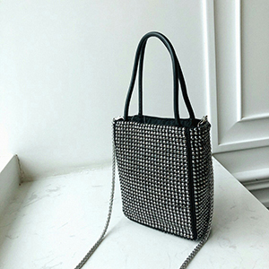 Sequins Bags Women Tote...