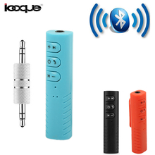 Clip-on 4.1 Wireless Bluetooth Receiver Car Music Audio for Headphones Earphone PC Speakers 3.5mm Jack Bluetooth Adapter Car Aux