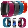 Precio de fábrica de lujo de silicona correa de smart watch band reemplazo para samsung gear fit 2 sm-r360 pulsera au8