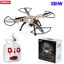 1pcs Syma X8HW WIFI FPV Real time RC Helicopter Headless Drone With 1MP HD Camera 2