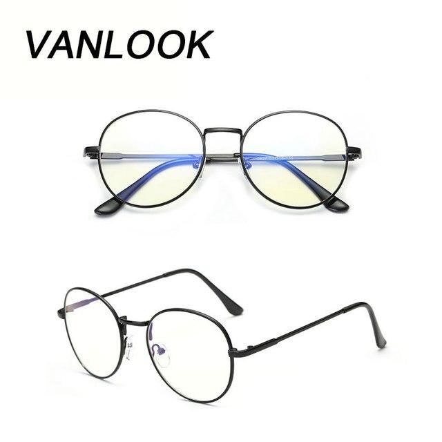 958dd6feeb207 Komputerowe Okulary Oculos de Grau Feminino Armação Okrągłe Okulary  Przezroczyste Spektakl Ramki dla Kobiet Mężczyzn