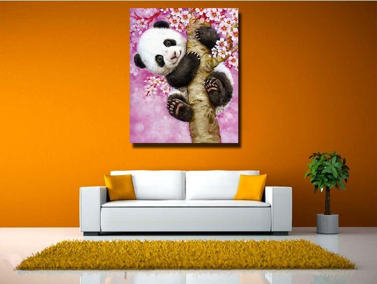 Animales Panda Venta Caliente Bordado de Diamantes, Pintura Diamante - Artes, artesanía y costura