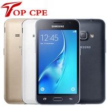 J120 Смартфон Samsung Galaxy J1 (2016) SM-J120 8 ГБ Встроенная память '1gb Оперативная память LTE Android мобильного Сотовые телефоны Оригинальный 5MP 4 г SM-J120