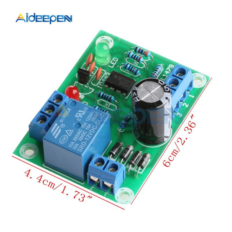 DC 12V Water Liquid Level Controller Sensor Module DIY Kit Detection Switch Water Level Detection Sensor Module Low Pressure
