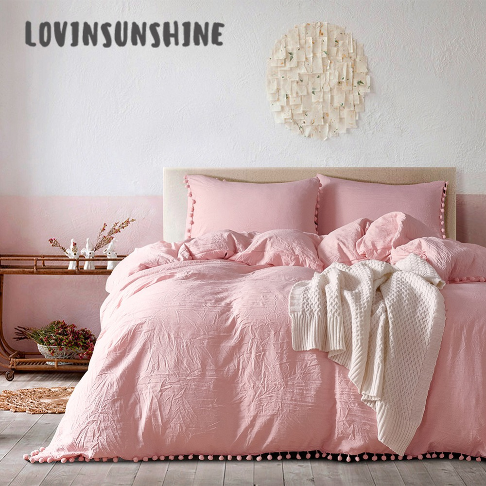 Lovinsunshine Quilt Cover Set Pink Bedding Sets Wish Furry Little