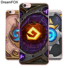 цены DREAMFOX M236 Hearthstone Heroes Soft TPU Silicone Case Cover For Apple iPhone X XR XS Max 8 7 6 6S Plus 5 5S SE 5C 4 4S
