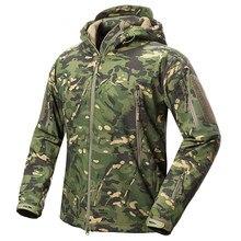71ade72038 Nueva ropa de otoño de los hombres de camuflaje militar chaqueta de lana  chaqueta ejército ropa táctica Multicam hombre camuflaj.
