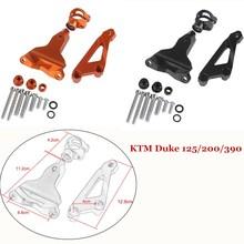 CNC Aluminium Steering Stabilizer Damper Mounting Bracket For 2013-2016 KTM Duke 125 200 390 2015 2014 Duke125 Duke390 Duke200 cnc steering damper stabilizer and titanium bracket mounting for honda cbr650f cbr650 cbr 650 f 2014 2016 2015
