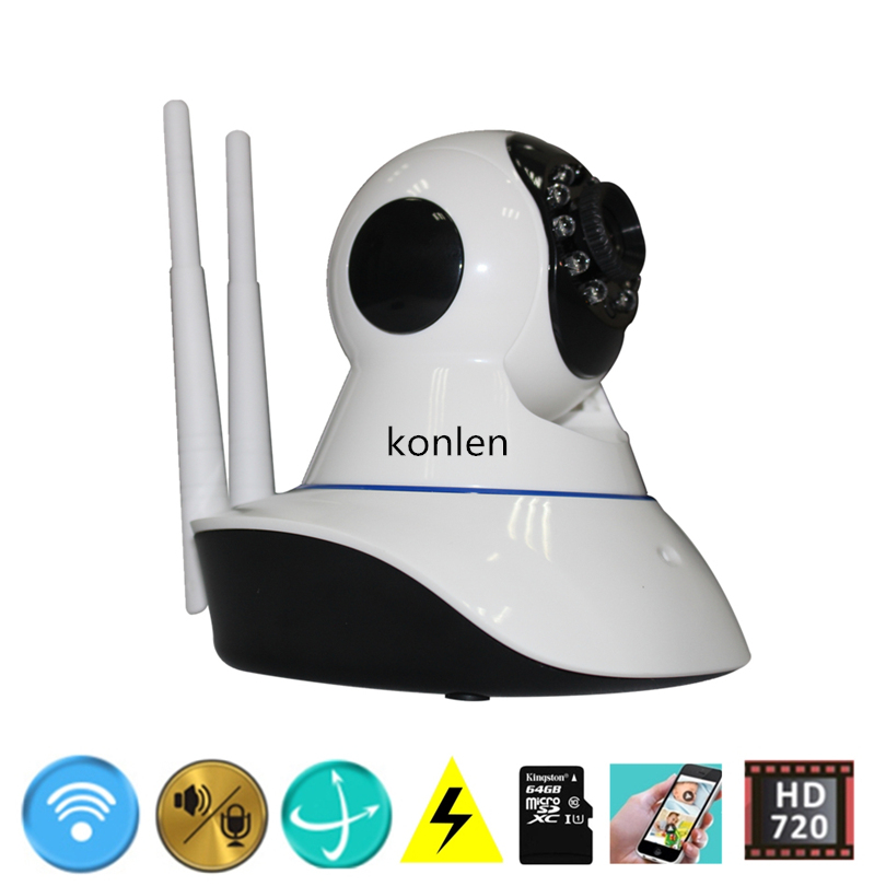 buy tf sd card wifi alarm cctv ip camera wireless home security surveillance. Black Bedroom Furniture Sets. Home Design Ideas