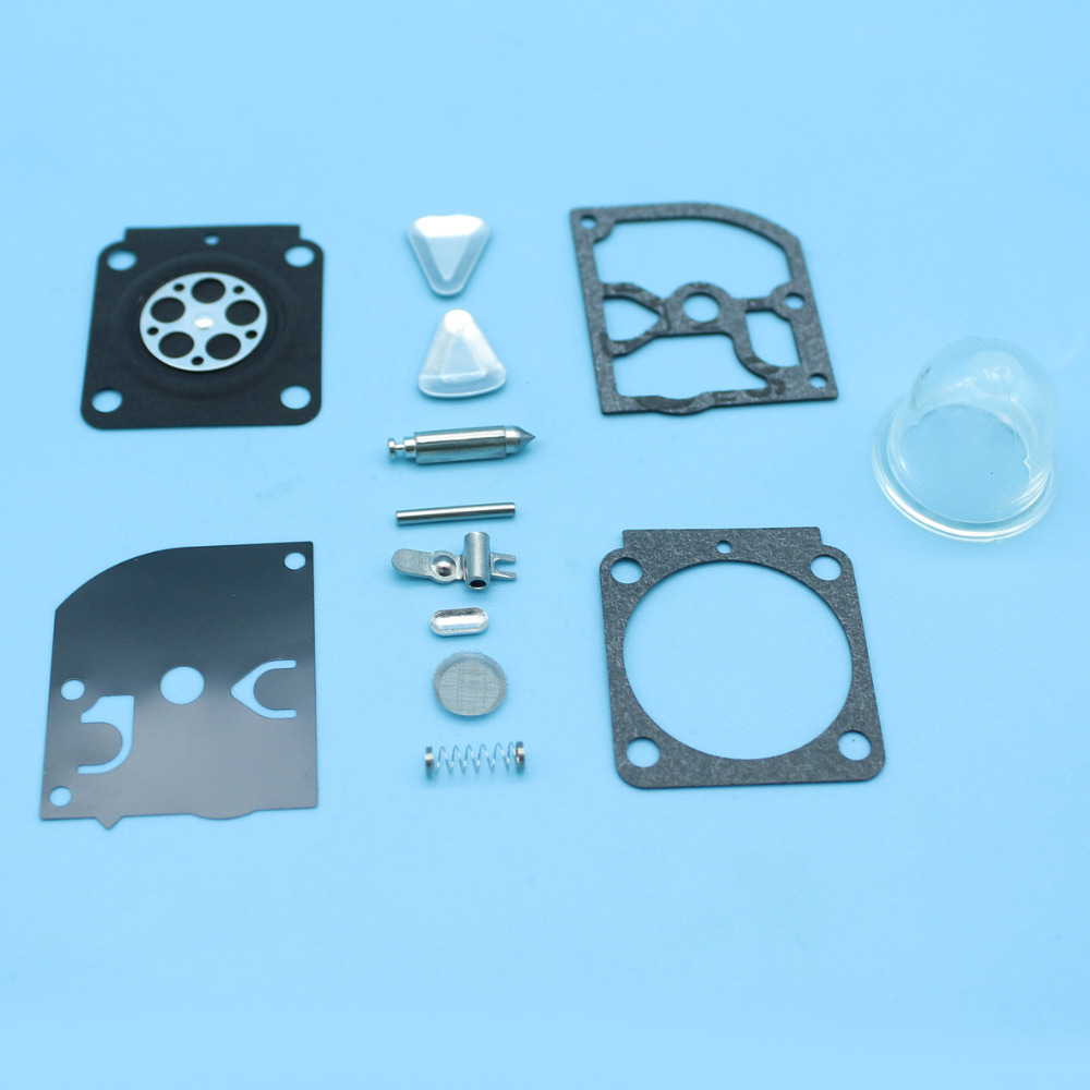 Carburetor Carb Repair Rebuild Kit for <font><b>STIHL</b></font> HS45 FS55 <font><b>FS38</b></font> BG45 TRIMMER Replacement <font><b>Parts</b></font> ZAMA RB-100 New image