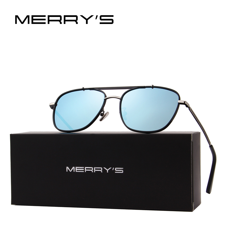 5f5397a424 Aliexpress.com   Buy MERRY S DESIGN Men Polarized Square Sunglasses Fashion  Male Eyewear 100% UV Protection S 8180 from Reliable Sunglasses suppliers  on ...