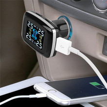 Monitoring System Tire Pressure Alarm Car Charger