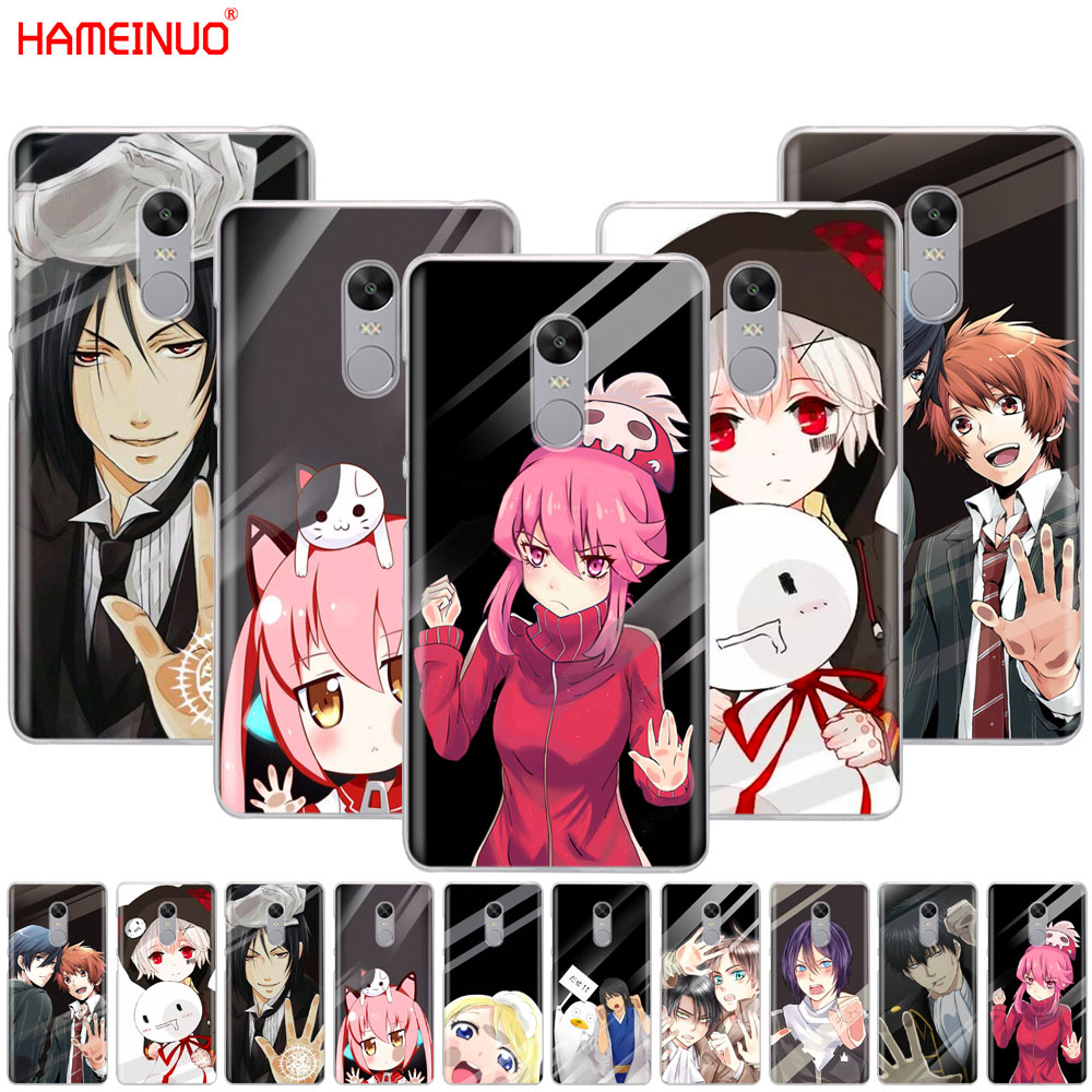 Hameinuo japanese anime girl touch glass kawaii phone case for xiaomi redmi 5 4 1 1s 2 3 3s pro plus redmi note 4 4x 4a 5a