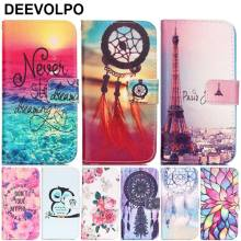 DEEVOLPO Fundas Case For Apple iphone 7 8 6 6S Plus 5 5S SE 5C 4 4S Rose Tower Lotus Wallet Leather Wallet Cover Coque Bag DP03Z(China)