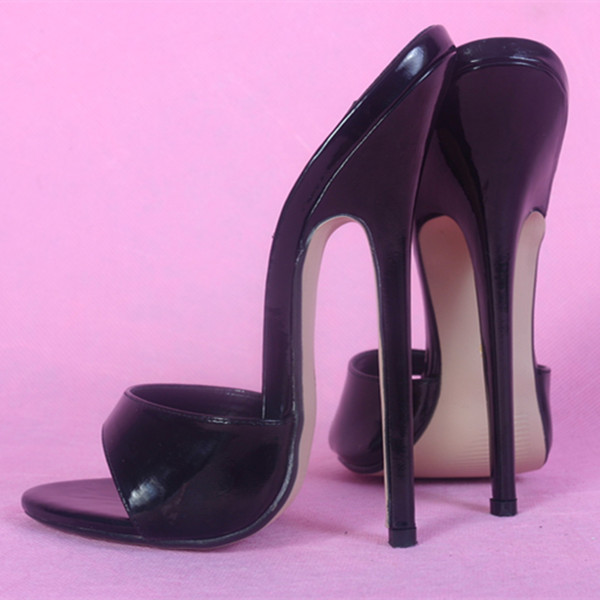 4c643b514c99 16CM Heel Height Sexy Round Toe Stiletto Heel Pumps Party Shoes US size 5  13.5 No.130-in Women s Sandals from Shoes on Aliexpress.com