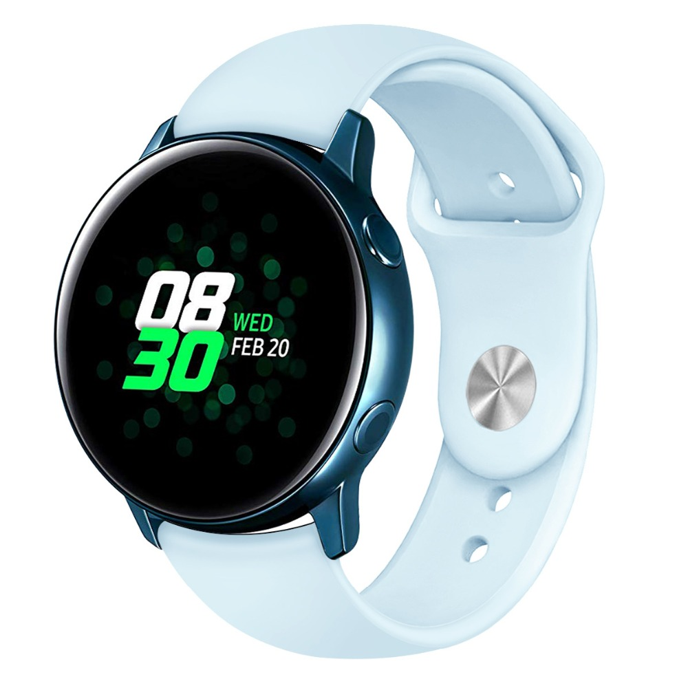 Galaxy Watch Active 2 band For Samsung galaxy watch 42mm 20mm watch strap Gear sport Huawei Watch 2 pro amazfit bip Accessories Pakistan