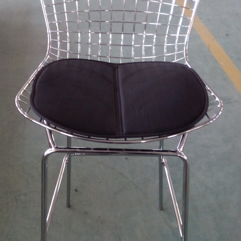 US $30.0 |Pads Cushion for Harry Bertoia Wire Chair seat Cushion Dining  Room Furniture Minimalist Modern Iron dining PU ushion no chairs-in Dining  ...