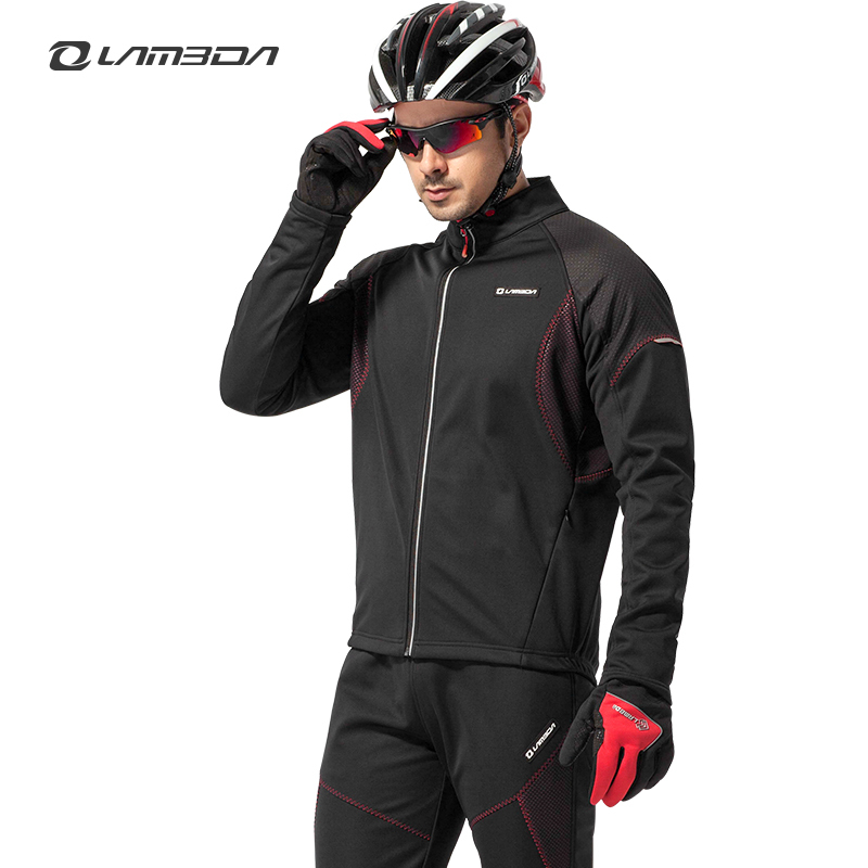 Aliexpress.com : Buy Lambda Winter Men's Cycling Jacket Men Fleece ...