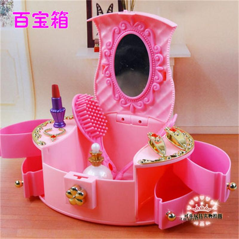 Barbie Bedroom In A Box: For Barbie Doll Furniture Accessories Toy Jewelry Storage