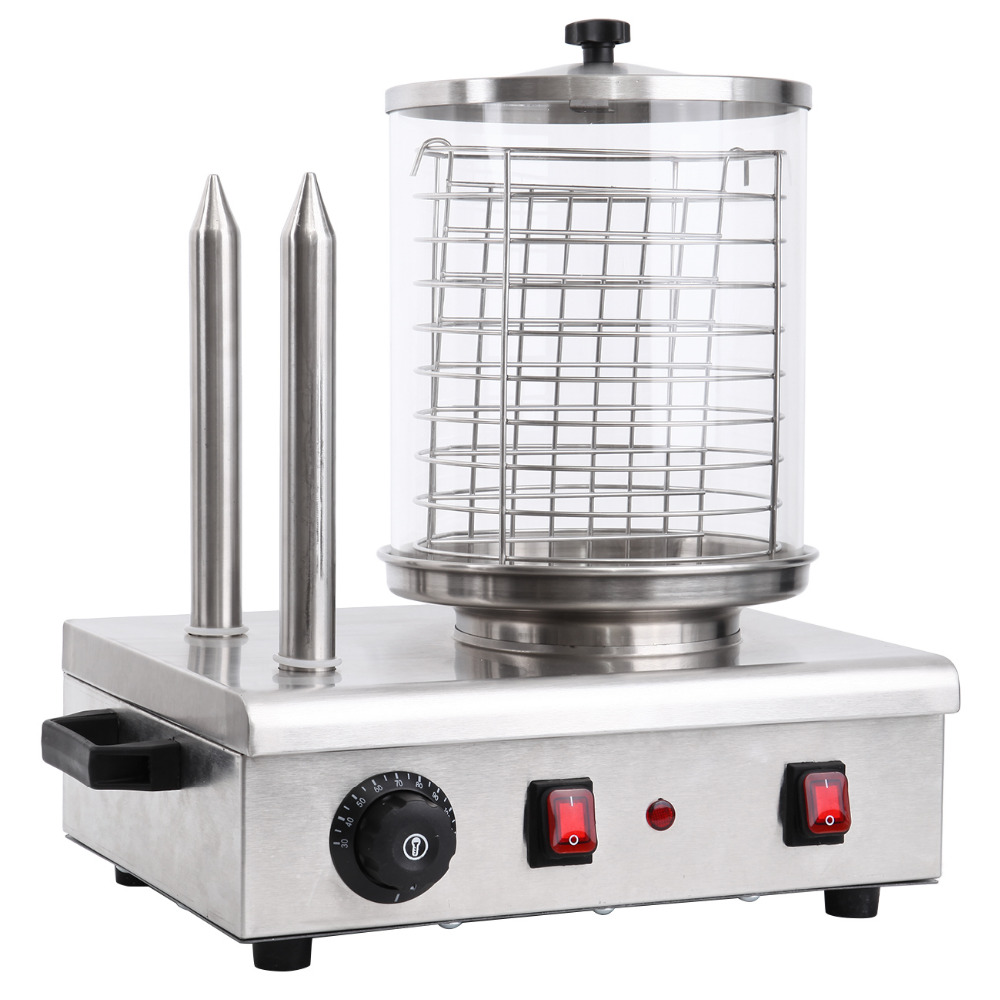 (Ship from EU) 920W Commercial Electric Steaming Hot Dog Warmer Bun Steamer Sausage Steamer Machine
