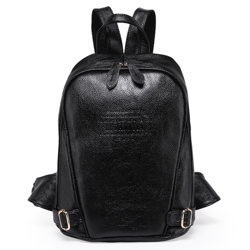 Women Backpack Genuine Leather Female Backpacks For Teenage Girls Students Schoolbag Women Travel Bag Mochila Bolsa High Quality #3