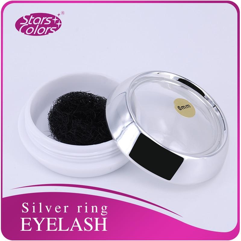 Silk Individual False Eyelash Extension C Curl Natural False Single Ultra Black And Long Silk Eyelash 0.15mm Lashes