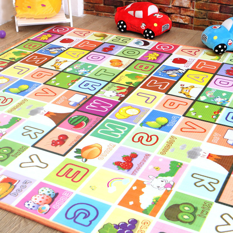 Baby Play Mat Developing Rug Puzzle Mat Mats Kids Rug Mat for Children Kids Toys For Newborns Eva Foam Carpets Baby Toys children alphanumeric jigsaw puzzle toys foam mat 36 pieces per package education toys building